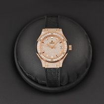 Hublot Classic Fusion Quartz new 2016 Quartz Watch with original box and original papers 581.ox.9010.lr.1704