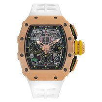 Richard Mille RM 011 new Automatic Chronograph Watch with original box and original papers RM11-03 RG