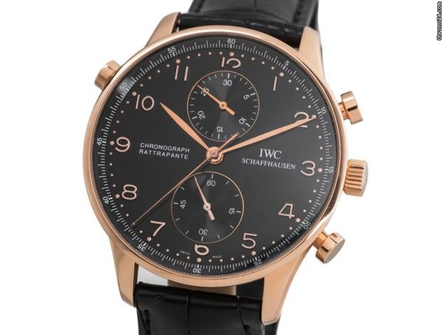 IWC Portuguese Chronograph 3712 2006 folosit