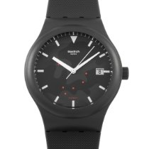 Swatch Automatic Black 42mm new