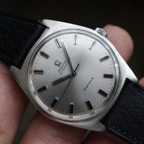 Omega Genève Stahl 35mm Silber Schweiz, Eschert