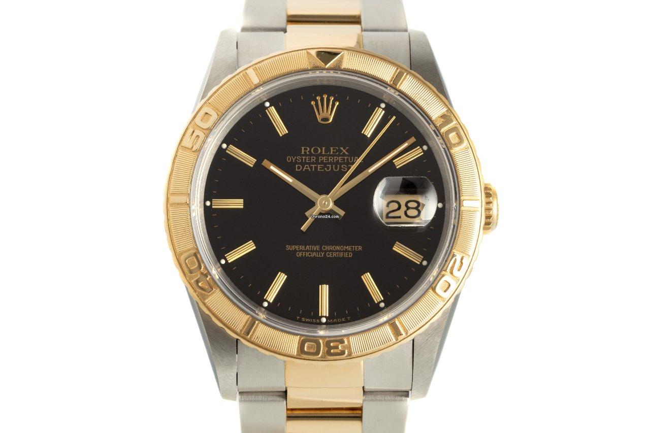 Rolex Datejust Turn-O-Graph 16263 1996 usato