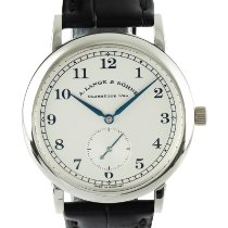 A. Lange & Söhne pre-owned Manual winding 36mm Silver Sapphire crystal