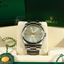 Rolex Oyster Perpetual 36 36mm Silver