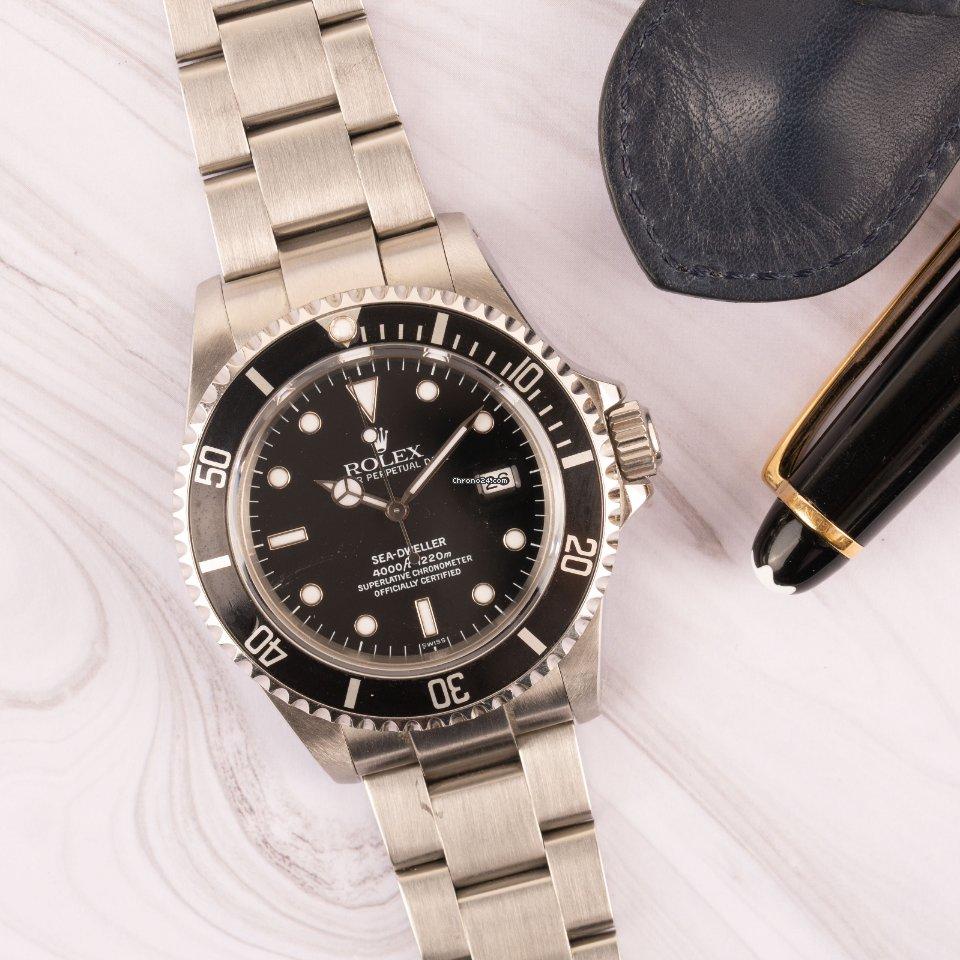 Rolex Sea-Dweller 4000 16600 1999 tweedehands