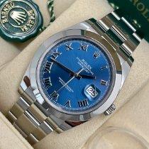 Rolex Datejust nuovo 2021 Automatico Orologio con scatola e documenti originali 126300-0017