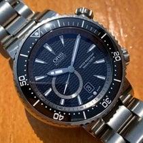 Oris Divers Titan Titanium 47mm Black No numerals