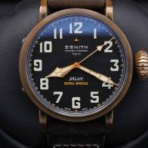 Zenith Pilot Type 20 Extra Special Bronze 45mm Black United States of America, California, Huntington Beach