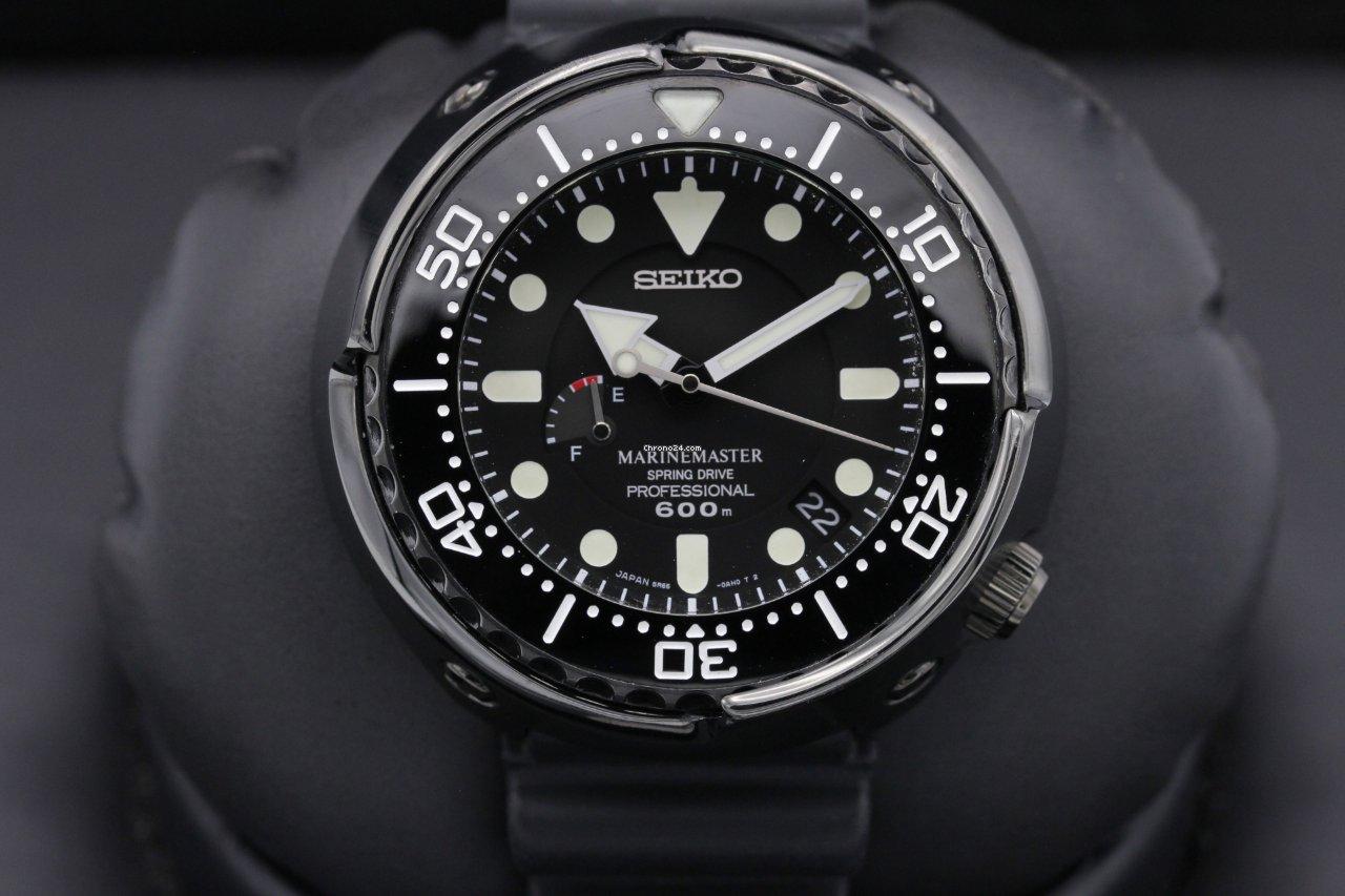 Seiko Marinemaster SBDB013 2015 pre-owned