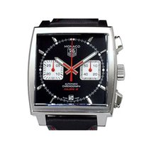 TAG Heuer CAW2114.FC6177 Steel 2014 Monaco Calibre 12 39mm pre-owned