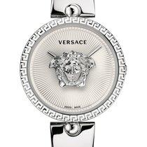 Versace new Quartz 39mm Steel Sapphire crystal