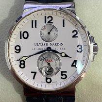 Ulysse Nardin Marine Chronometer 41mm Çelik 41mm Arap rakamları