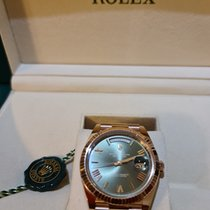 Rolex pre-owned Automatic Green Sapphire crystal 10 ATM