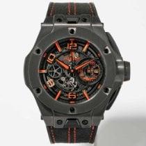 Hublot Big Bang Ferrari Carbon 45mm Transparent Arabic numerals