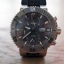 Oris Aquis Titan Chronograph Titanium Grey