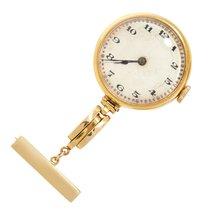 """Orig. """"W&D"""" Rolex Wilsdorf & Davis 15K massiv Gold Schwestern Hals Uhr ca. 1900 良好 黄金 手动上弦"""