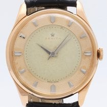 Zenith Stellina Rose gold 35mm Silver No numerals