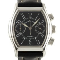 Girard Perregaux Steel Automatic Black 36.5mm pre-owned Richeville