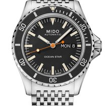Mido Ocean Star Stal 40.5mm Czarny