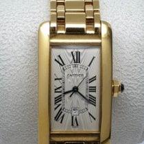 Cartier Tank Américaine Yellow gold 23mm Champagne Roman numerals UAE, Sharjah