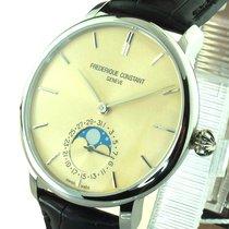 Frederique Constant Manufacture Slimline Moonphase FC-705BG4S6 Neu Silber 42mm Automatik Deutschland, Höchstädt