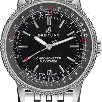 Breitling Navitimer 01 Staal 38mm Zwart