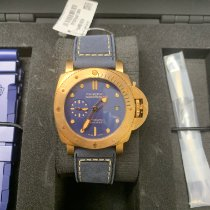 Panerai Bronze Automatic Blue 42mm new Special Editions