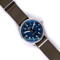 IWC Pilot Mark pre-owned 40mm Black Date Textile