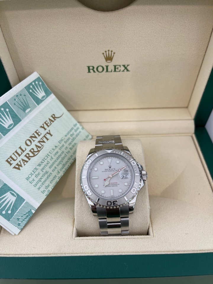 Rolex Yacht-Master 40 16622 2001 pre-owned