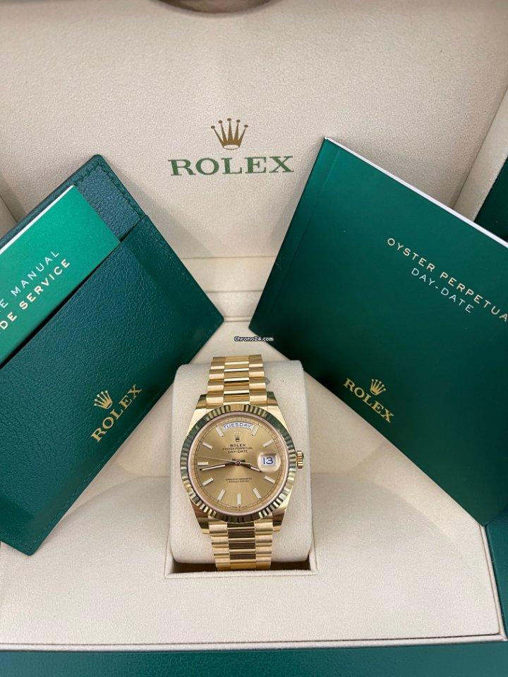Rolex Day-Date 40 228238 2020 new