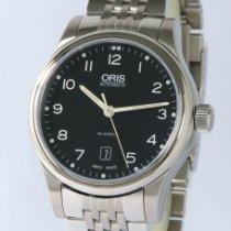 Oris Classic 01 733 7594 4034-07 8 20 61 Nieuw Staal 42mm Automatisch
