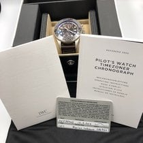 IWC Pilot Chronograph pre-owned 46MMmm Brown Leather