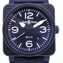 Bell & Ross BR 03 BR 03-92 Good Steel 42mm Automatic