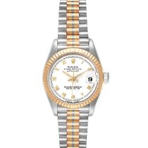 Rolex 69179 Or blanc 1986 Lady-Datejust 26mm occasion