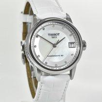 Tissot Luxury Automatic Сталь 33mm Перламутровый