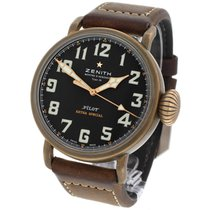 Zenith Pilot Type 20 Extra Special occasion 45mm Noir Cuir