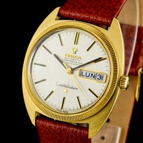 Omega Constellation Day-Date Yellow gold 35mm Gold No numerals