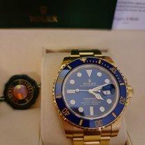 Rolex Submariner Date Yellow gold Blue No numerals UAE, DUBAI
