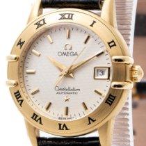 Omega Constellation Aur galben 27mm Alb Fara cifre România, Bucharest
