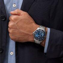 Breitling Superocean 42 Сталь 42mm Синий Aрабские