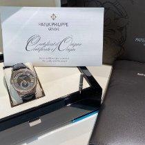 Patek Philippe Белое золото Автоподзавод Черный Без цифр 40mm подержанные Annual Calendar