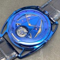 De Bethune DB28 подержанные 42.6 mmmm Синий Кожа