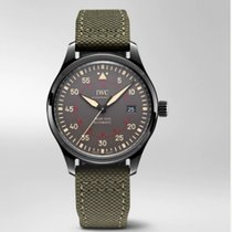 IWC Ceramic Automatic Grey Arabic numerals 41mm new Pilot Mark