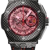 Hublot Big Bang Ferrari Carbon 45mm Transparent Arabic numerals United States of America, New York, New York