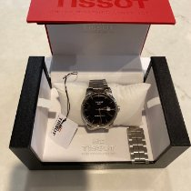 Tissot Luxury Automatic Steel 41mm Black No numerals United States of America, New Hampshire