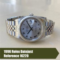 Rolex 16220 Steel 1996 Datejust 36mm pre-owned United States of America, Florida, Coral Gables