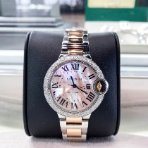 Cartier Ballon Bleu 33mm Gold/Steel 33mm Mother of pearl Roman numerals United States of America, Texas, Houston