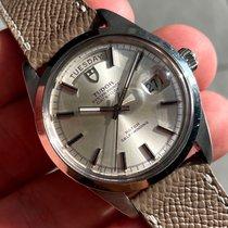Tudor Stål 37mm Automatisk 7017/0 Vintage brukt