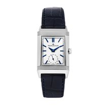 Jaeger-LeCoultre Reverso Duoface Steel 42.9mm Silver No numerals United States of America, Pennsylvania, Bala Cynwyd