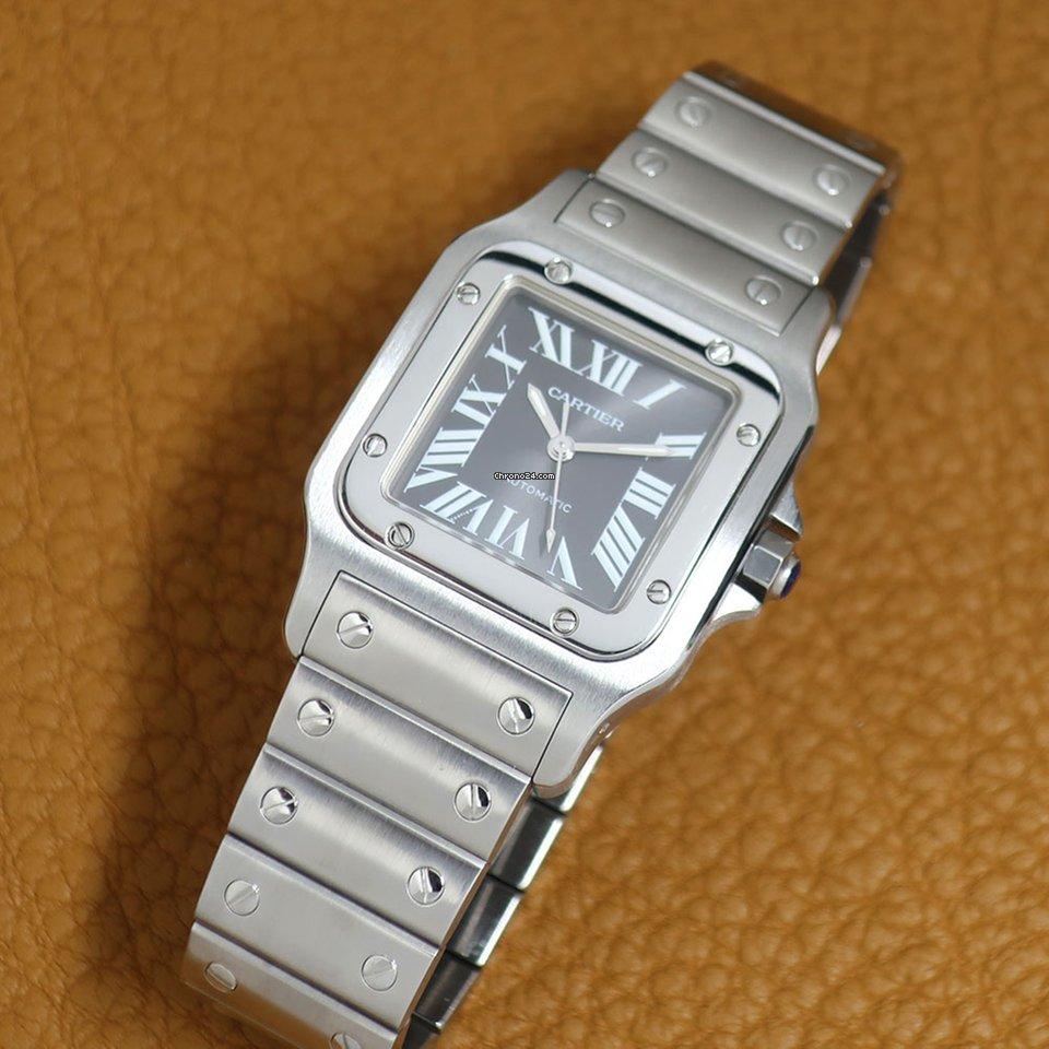 Cartier Santos Galbée 2319 2002 occasion
